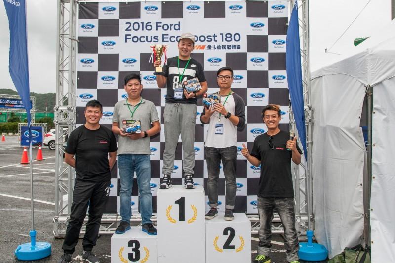 最後CARTURE車勢文化也在筆者的參賽下獲得媒體組的亞軍成績。當然,Focus EcoBoost 180的好身手更是獎品背後最具價值的體驗重點。