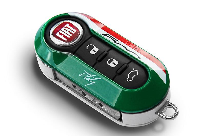 FIAT折疊鑰匙獨特造型真是讓人愛不釋手
