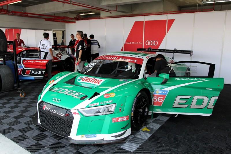 瑞士女車手Rahel Frey的座駕唯一採用綠色,賽道上辨識度相當高