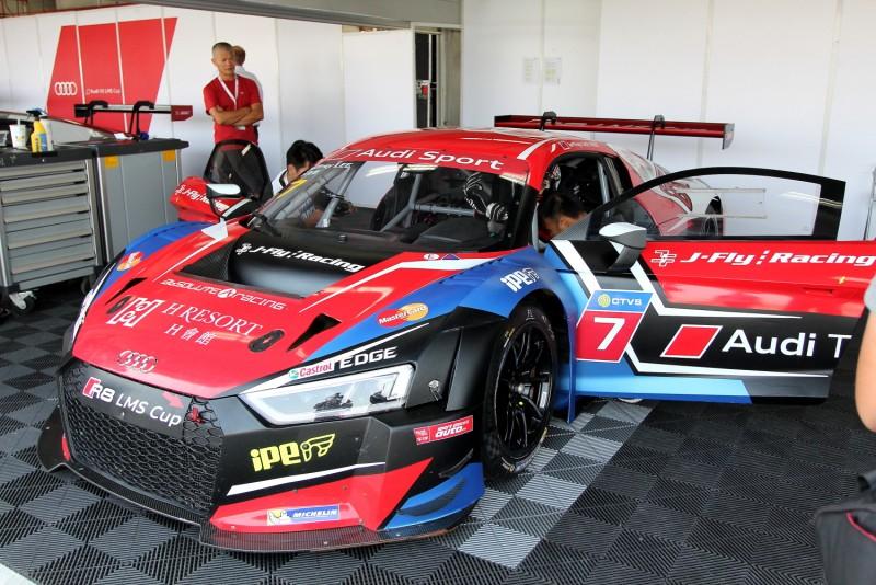 Audi Taiwan品牌大使李勇德是此站唯一本土車手同時也獲得業餘組雙回合冠軍