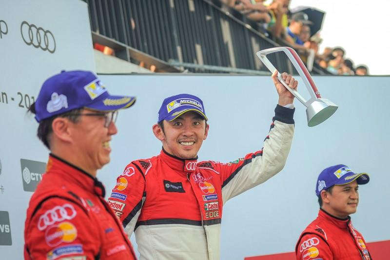 本賽季倒數第二個賽事週末,Audi Taiwan品牌大使李勇德以業餘組雙回合冠軍,在台灣車迷面前提前鎖定業餘組別年度總冠軍頭銜。