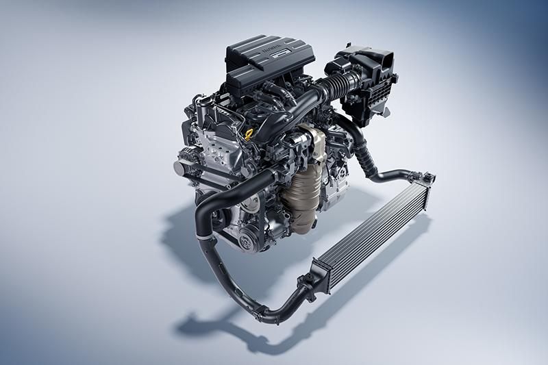1.5升渦輪增壓動力能夠帶來190hp最大馬力以及24.7kg-m峰值扭力。