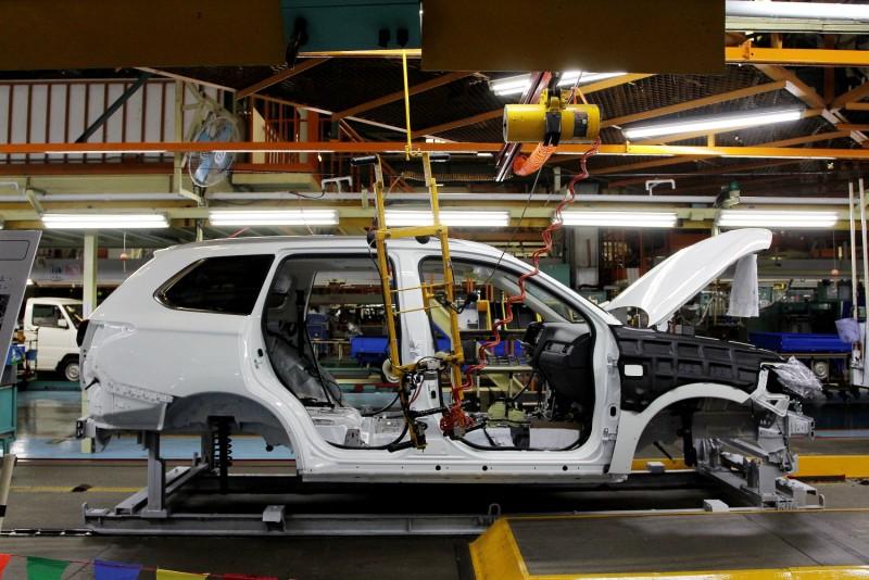 剛上市的Outlander理所當然是生產線上最多車型