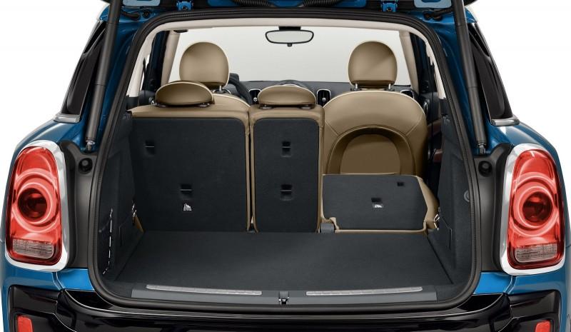 透過後座椅40/20/40分離比例的傾倒機制加持,讓後廂容積可在450~1309公升間彈性變換,較前世代足足增加220公升之多。