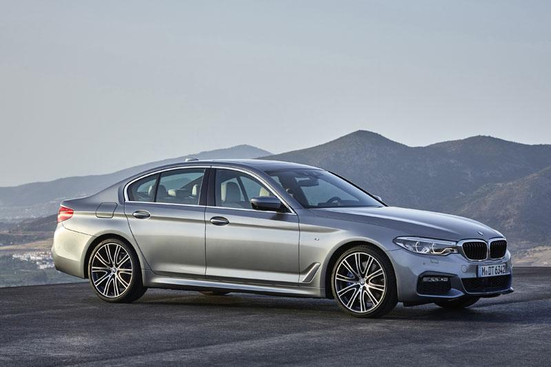 全新BMW 大5系列搭載M Sport Package風格套件。