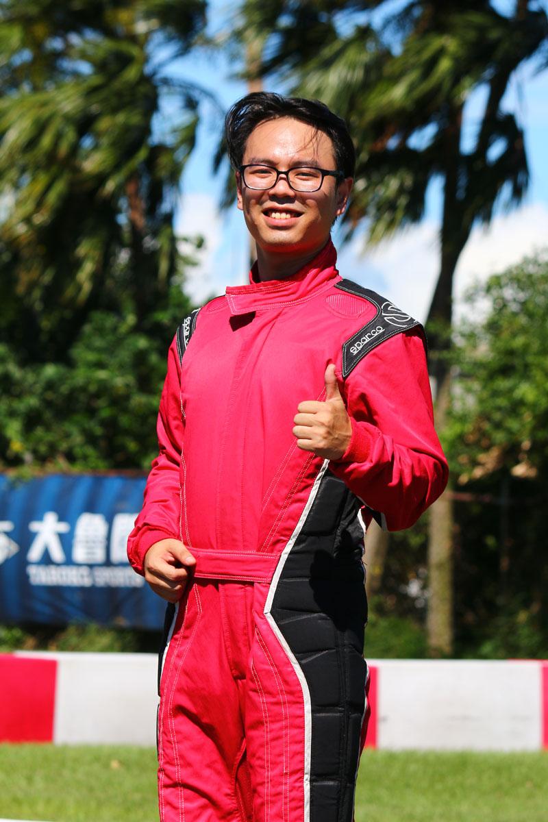 鍾承祐以37.650秒奪得本站測時賽竿位寶座,所有車手的測時賽秒差亦在0.8秒內,實力相當接近。
