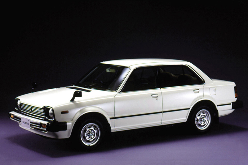 第二代Honda CIVIC在1980年代曾是許多新興中產階級的最愛。