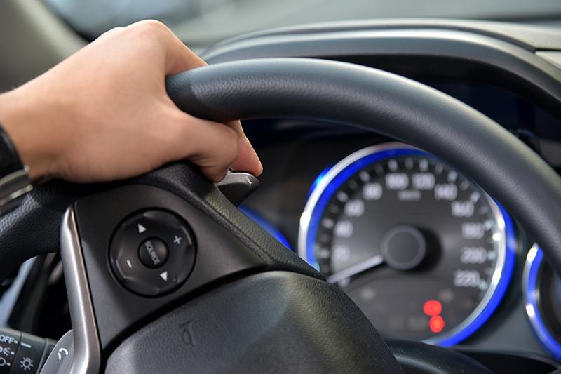 最頂級的Honda CITY VTi-S,還擁有方向盤換檔撥片。