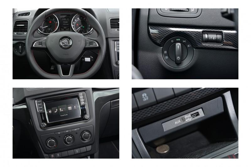 繼承原有配備外,Yeti Monte Carlo更採用三幅真皮平把方向盤與類碳纖維飾板