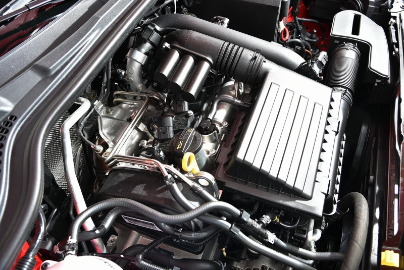 1.2TSI引擎排氣量小但油耗表現優秀