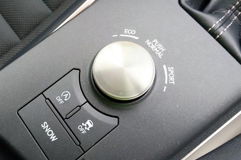 多重駕馭模式切換鈕。