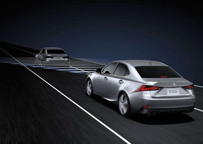 DRCC雷達感應式車距維持定速系統。