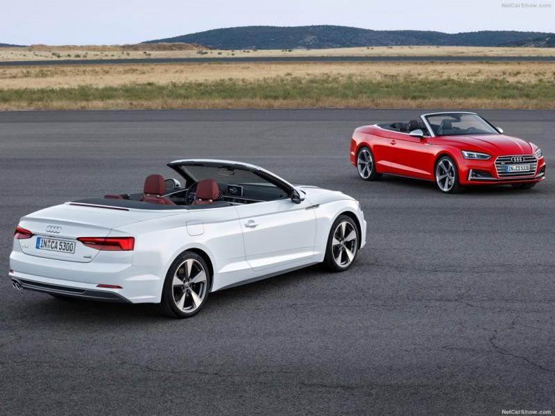 以A5雙門跑車的流線外型為基礎,A5/S5 Cabriolet以科技重新定義上空風情