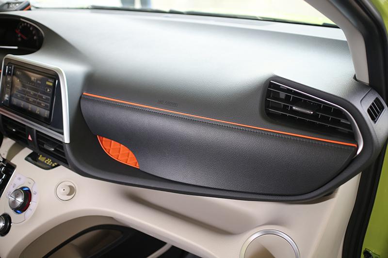 內裝質感是Toyota全車系中最棒的,幾乎不輸以此自豪的任何歐系品牌!
