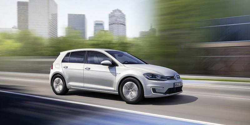 比起上一代車型,新e-Golf可行駛里程增加50%達到300公里