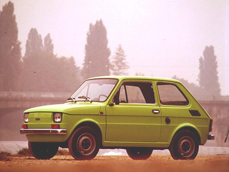 由直線組成的FIAT126其實是老500真實後繼車款