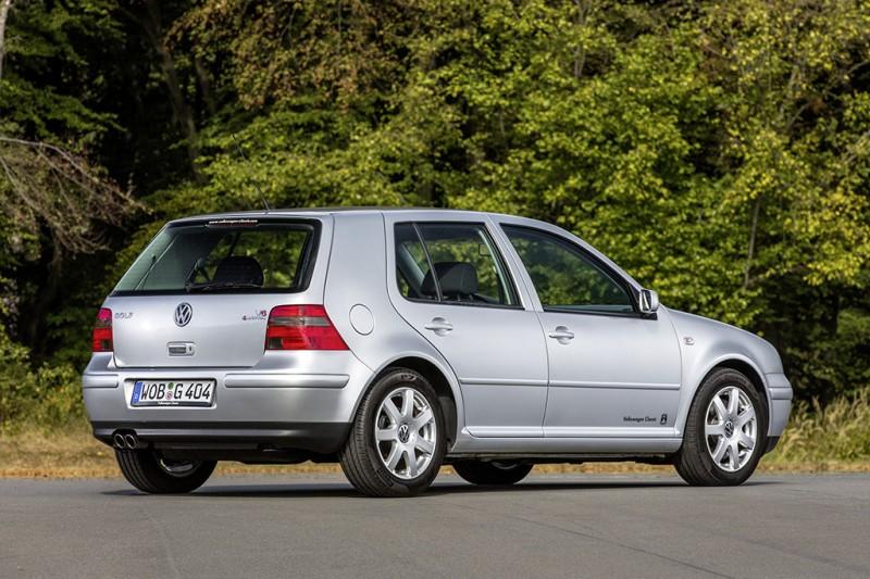 Golf Mk4尾燈造型與寬闊C柱有著說不出的契合