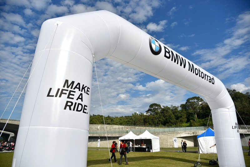 Make Life a Ride!騎是生活!這是BMW Motorrad 所追求的品牌精神