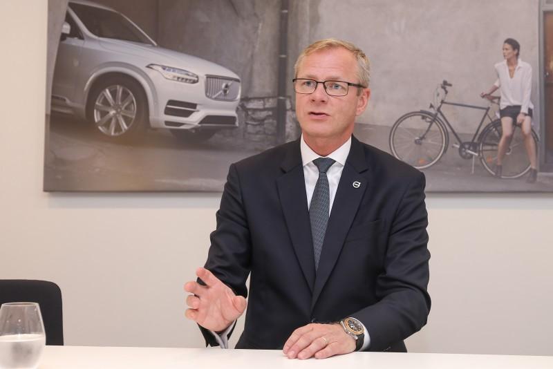 Jari Kohonen:「預計2025年時,Volvo旗下的替代能源車款就將累積達到100萬輛的產能與銷售成績。」