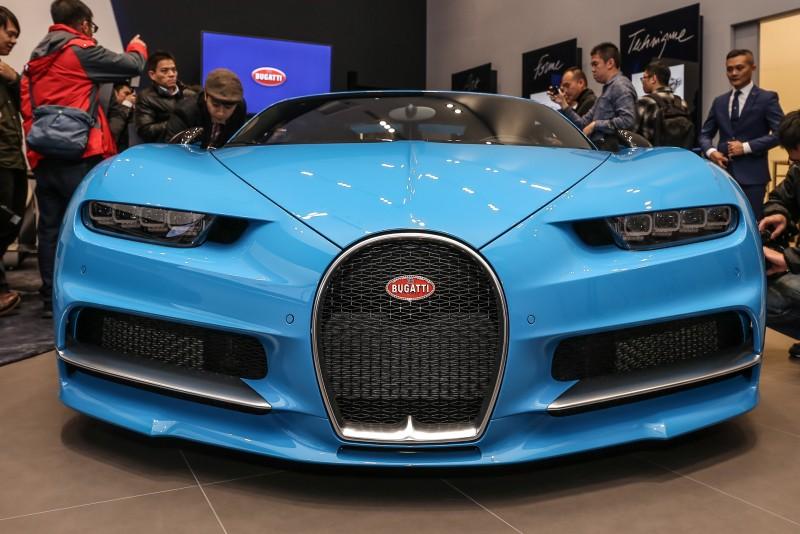 搭著Bugatti全新台北展示中心落成機會,品牌當家跑車Chiron首次現身台灣。