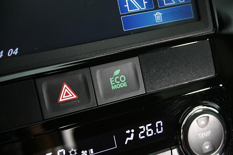 ECO 模式是想要節能駕馭時的好幫手。