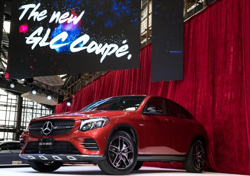 台灣賓士推出跨界跑旅全新Mercedes-Benz GLC Coupe,讓旗下休旅陣容宣告完備。