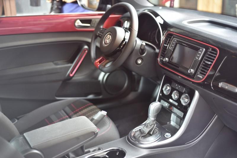 #PinkBeetle車艙中除處處可見其復古經典的設計元素