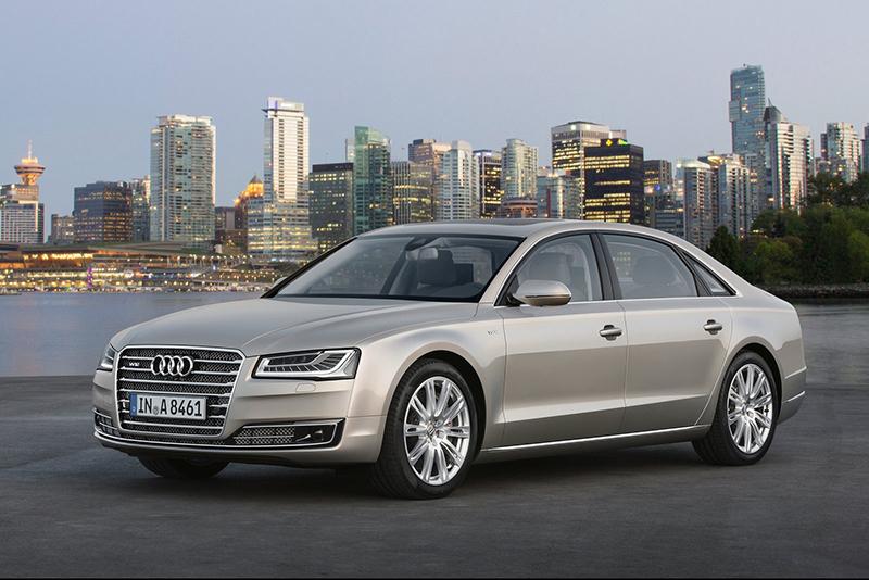 A8毫無疑問正是Audi當家旗艦。