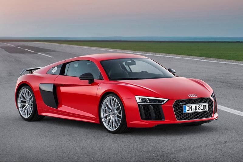 R8象徵著品牌性能車系至尊頂天的地位。