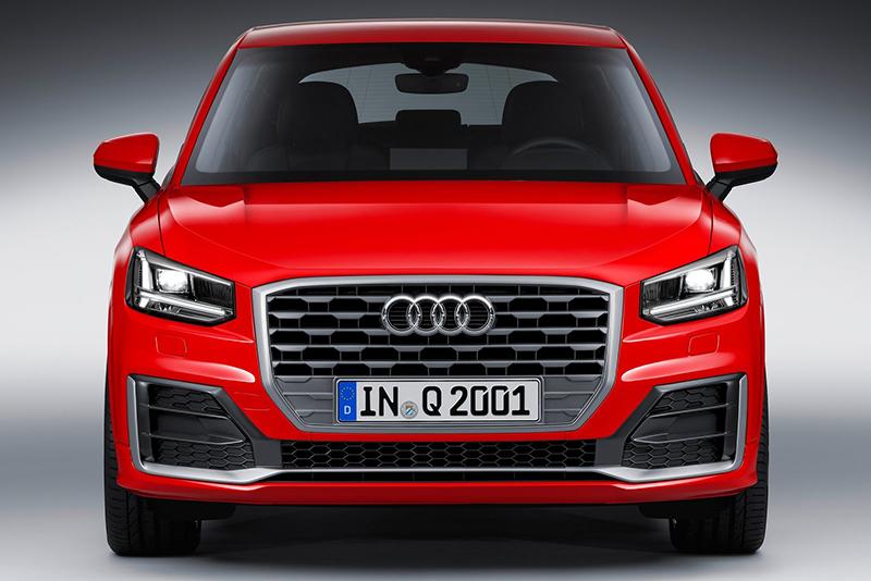 這是Audi Q家小老弟的正面照。