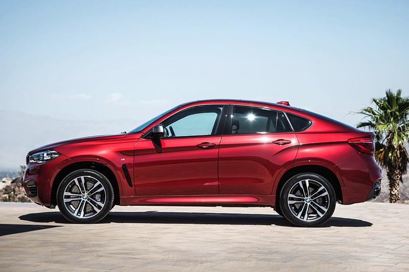BMW X6堪稱此類車款的濫觴,以低扁富肌肉感的造型享譽全球。