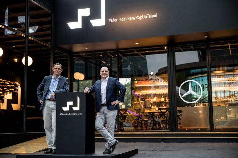 Mercedes-Benz概念館於12/29正式開幕。
