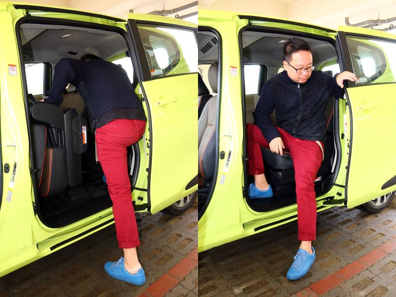 低底盤加上側滑門設計,讓Sienta對行動不便者來說,上下車更為方便,是它的優勢之ㄧ。
