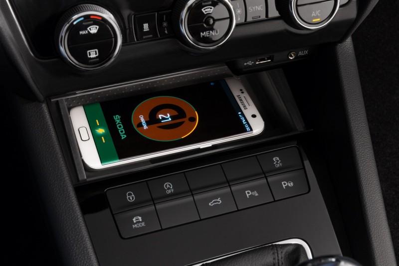 支援智慧型手機的感應充電功能
