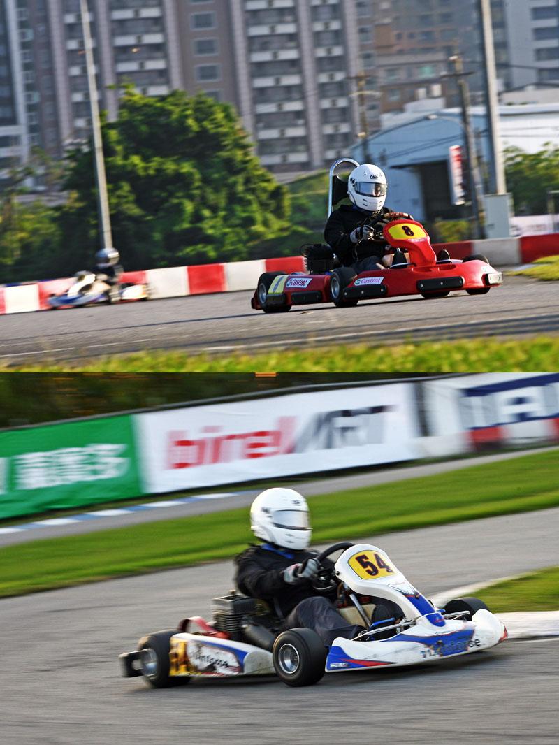 在試駕當天除了試駕Super N35(上)外,也是了Yamaha SL(下)做為對照,筆者個人跑出的最佳單圈成績分別為38秒314與38秒222,秒差十分接近。