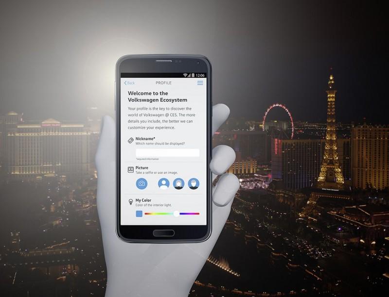 Volkswagen在美國2017國際消費電子大展推出專屬數位應用程式Volkswagen CES App,共同勾勒出未來移動生活