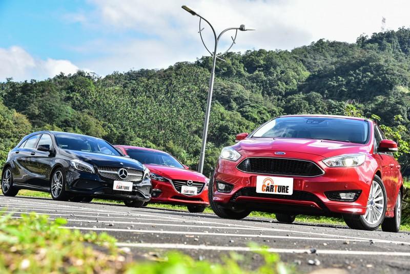 此次拋下售價與身份,看看Ford Focus與Mazda Mazda3對上了此級距最貴代表的Mercedes-Benz A-Class之後,會有何等令人意外的結局?
