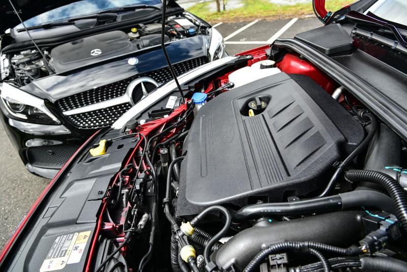A 180 AMG Line雖然跟上了潮流,採用1.6升汽油引擎搭配渦輪增壓系統,但122hp/20.4kgm的輸出表現卻僅可說差強人意。