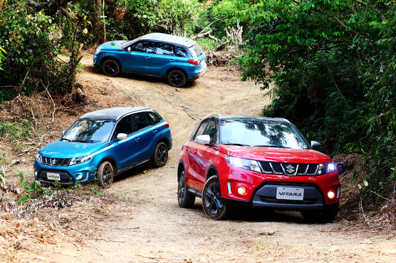 Suzuki Vitara不僅世代新表現好,同時更以雙動力/雙驅動的多樣化配置滿足能文能武的需求。