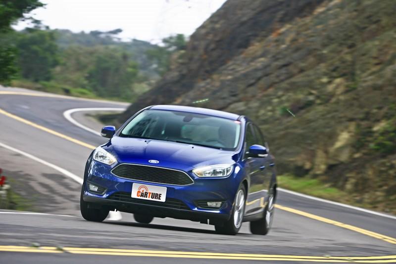 動態是Ford Focus的強項之一,而且是領先多數對手好幾條街的那種強。