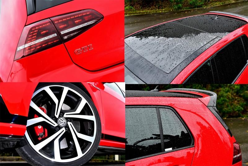 Golf GTI Clubsport外觀採用Golf GTI經典造型元素,再奉上9大項Clubsport專屬套件