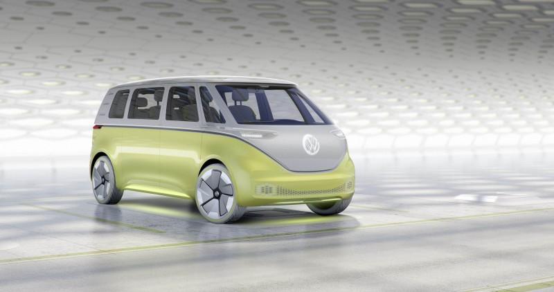 Volkswagen I.D. BUZZ電動概念車驚艷2017底特律車展,向世界宣告Volkswagen開啟零排放電動車世代,且徹底貫徹Volkswagen的品牌主張:「實踐未來」。