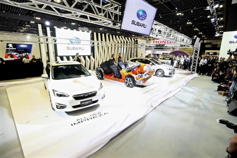 身為Subaru品牌於亞洲九個國家的獨家代理商,意美汽車集團於2017新加坡車展正式推出「Subaru全球模組化底盤Subaru Global Platform (SGP)」與車迷朋友見面,新世代SGP平台未來將肩負重任並搭載於所有Subaru新車款上,迎接嶄新世代的到來。
