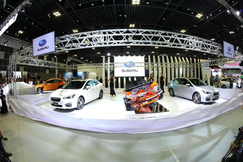 第五代All-New Impreza將做為第一部採用全新Subaru全球模組化底盤(Subaru Global Platform,縮寫為SGP)的新世代車款,而融合創新科技於一身的SGP底盤,未來也將陸續搭載於SUBARU旗下的所有新世代車款上。