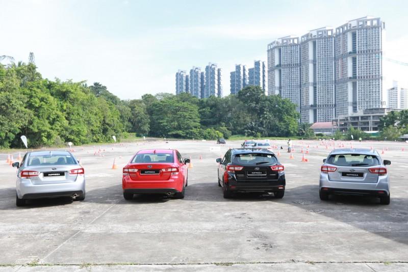 新世代All-New Impreza(四門與五門)將於二月中旬同步導入台灣市場,未來也將帶給消費者耳目一新且讓同級競爭對手難以望其項背的操駕新視野。(實際規格與配備將以台灣引進車款為準)