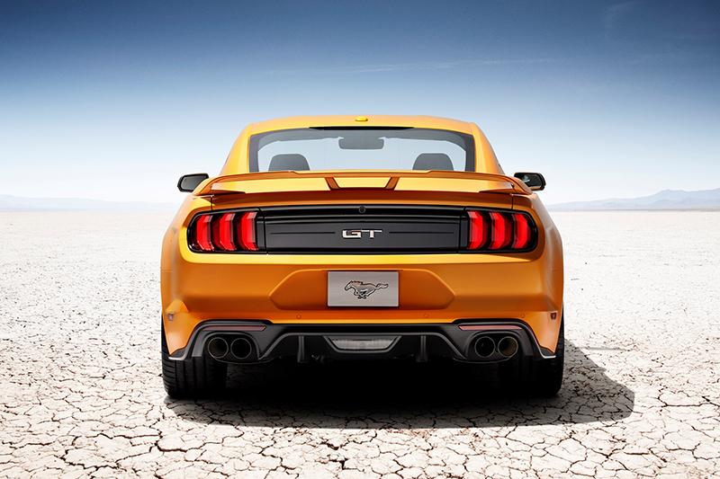 小改款Ford Mustang將於今年秋季開始於北美市場販售。