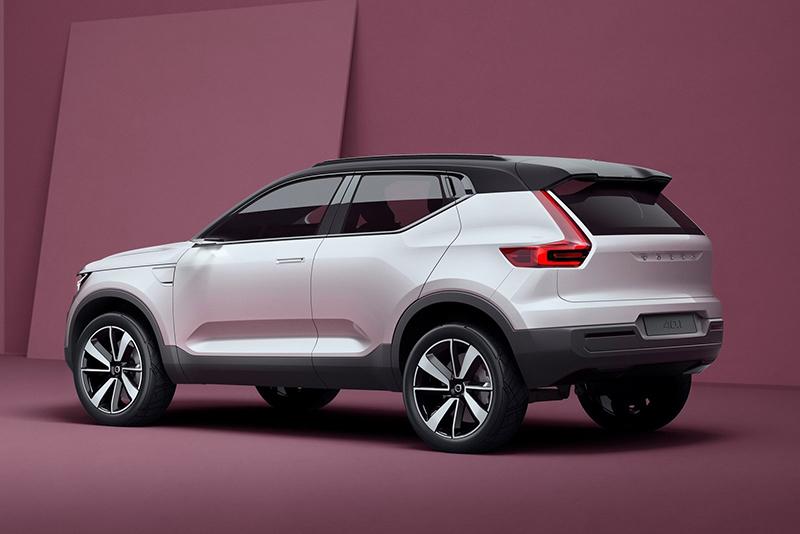 於2016年中發表的Volvo Concept 40.1,被視為是全新產品XC40的發想原點。