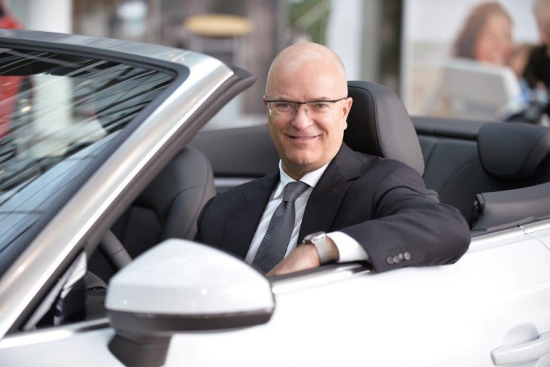 奧迪福斯汽車股份有限公司為福斯集團在台灣地區之銷售公司,現由蔣泰瑞(Terence Bryce Johnsson)擔任負責人