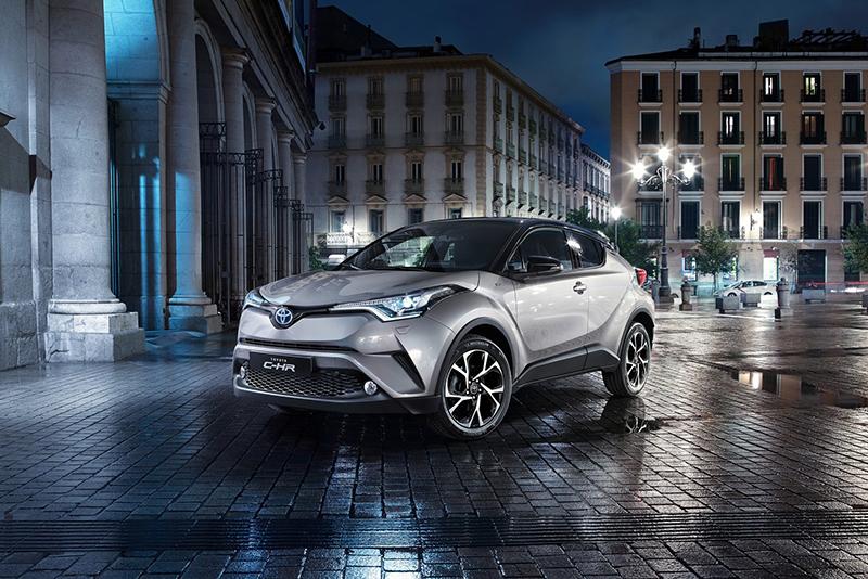 緊接而來的Crossover新秀C-HR,將再度顛覆傳統看待Toyota的眼光。