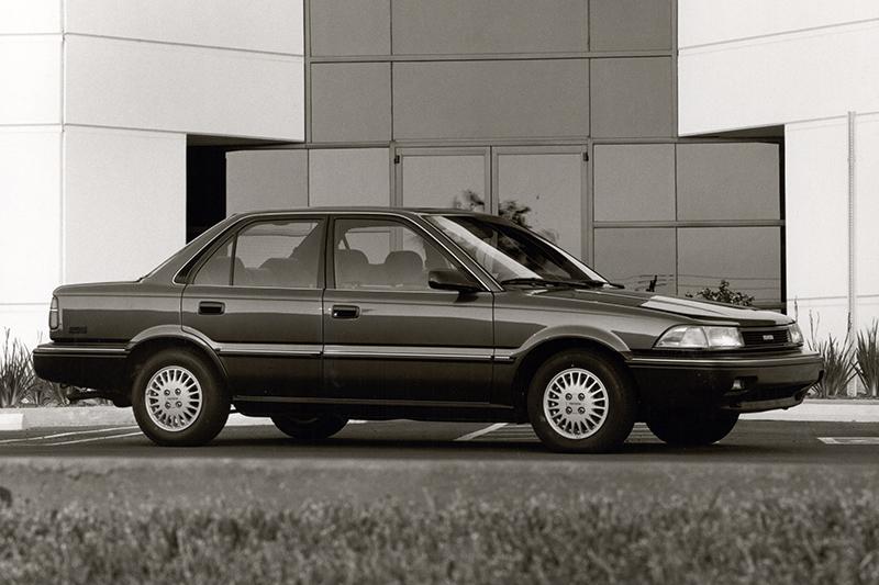 由於在1989年重新國產化的Corona口碑實在好到翻掉,因此和泰方才追加美規Corolla補強初期產能不足的狀況。